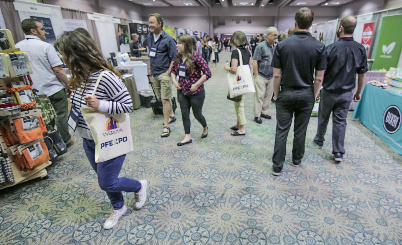 Pet Food Experts, PFEXPO Pacific Northwest Show, Trade Show Floor