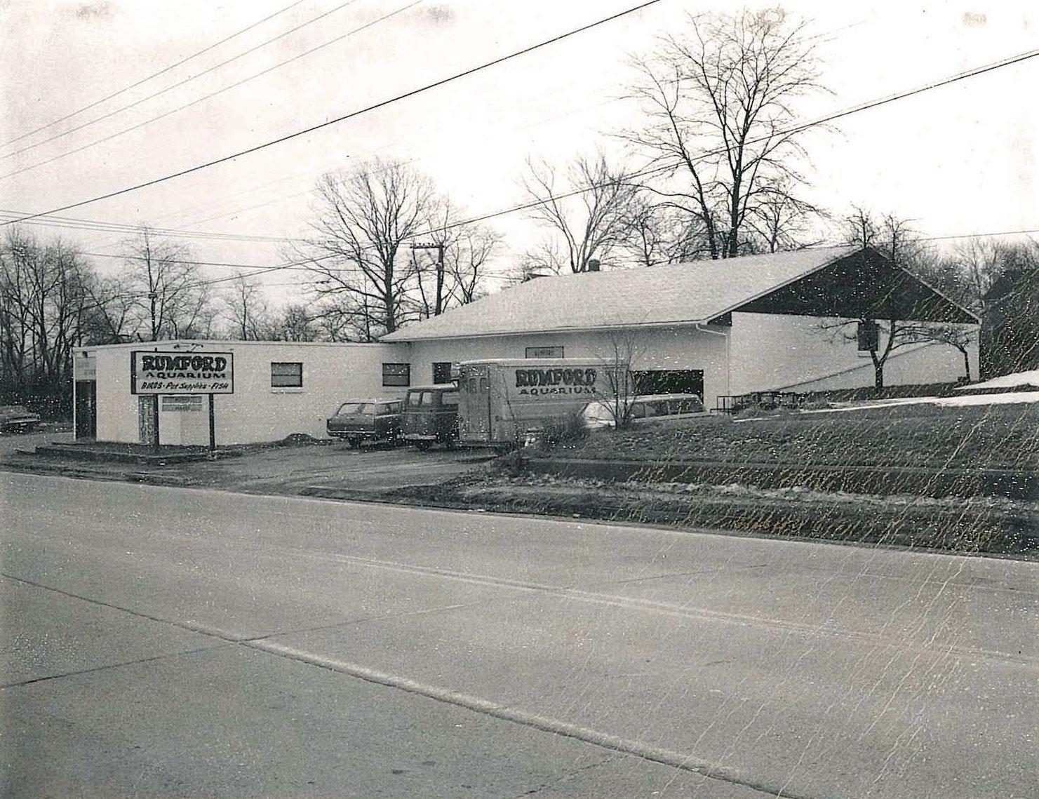 Rumford Aquarium - Circa 1959