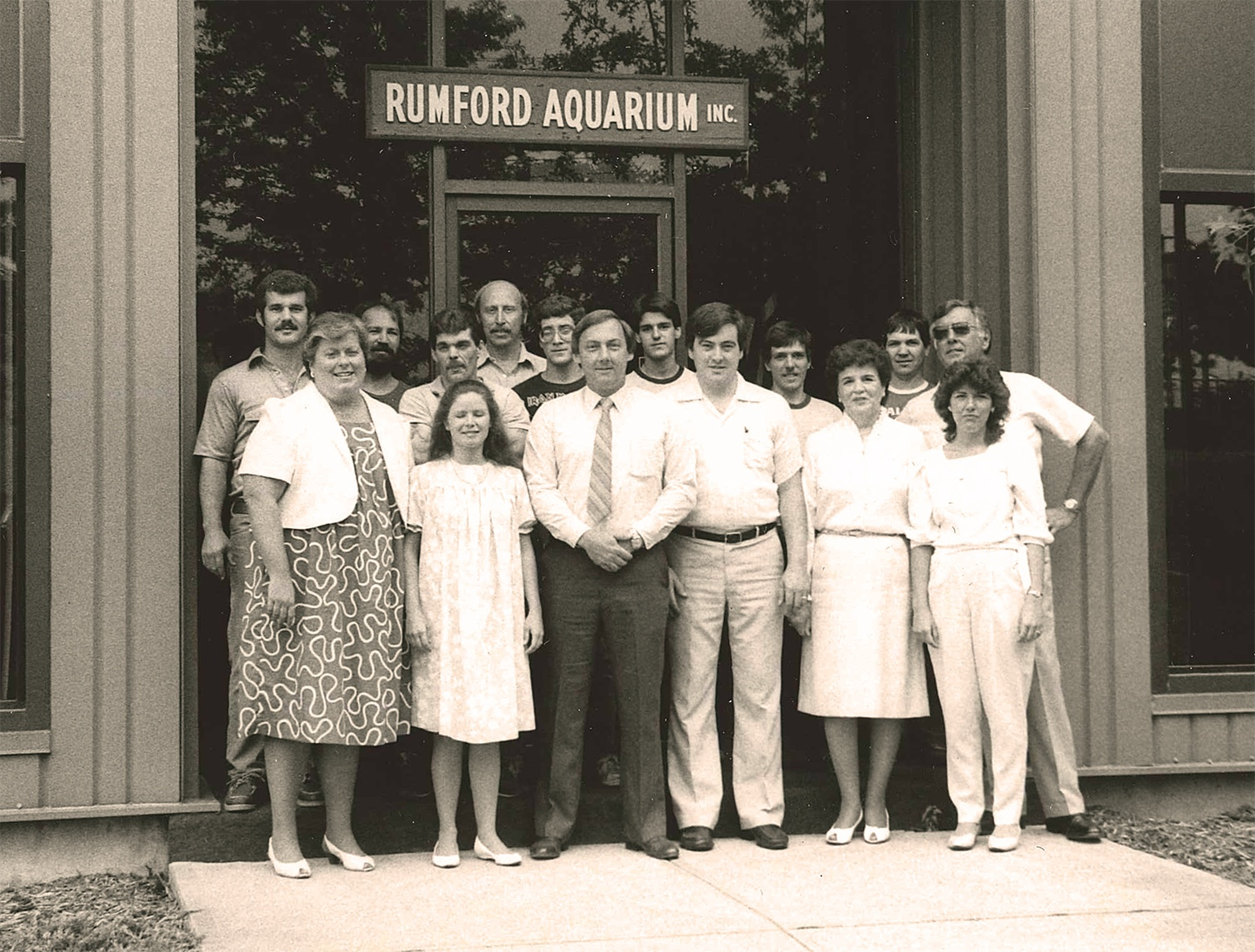 Rumford Aquarium Employees - 1970's